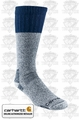 Carhartt A66 Cold Weather Boot Socks Navy Large