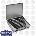 Champion Cutting Tools 900-45 8 Piece Adjustable Hand Reamer Set