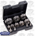 Champion Cutting Tools CT7P-PLUMBER-2 12 Piece Hole Cutter Plumber Set