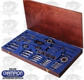 "Champion Cutting Tools S51-LTD 51 Piece 308-327"" HS Tap and Die Set"