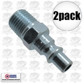 "Coilhose 1401 2pk 1/4"" NPT Male ARO Air Fitting"