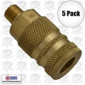 "Coilhose 152 5pk 1/4"" NPT Male M Coupler Body Air Fitting"