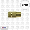 "Coilhose 160 2pk 1/4"" NPT Female T Coupler Body Air Fitting"