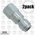 "Coilhose 5904 2pk 1/4"" NPT Female P Plug Air Fitting"