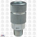 "Coilhose 591-DL 3/8"" NPT Male P Coupler Body Air Fitting"