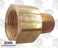 """Coilhose C0604-DL 3/8"""" FPT x 1/4"""" MPT Hex Adapter"""