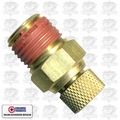 "Coilhose DV04 Pneumatic Air Compressor Tank Replacement Air Valve 1/4"" NPT"