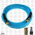 "Coilhose PFE41004T-1502-150 3pc 1/4"" x 100' Flexeel Air Hose, Polyurethane Kit"