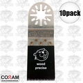"Coram Tools MJI 035 10pk 1-3/8"" (35mm) Japanese Tooth Fine Wood Blades"