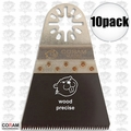 "Coram Tools MJI 065 10pk 2-9/16"" (65mm) Japanese Tooth Fine Wood Blades"