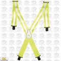 Custom Leathercraft 14110 Heavy Duty Hi-Viz Suspenders