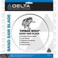 "Delta 28-226 142"" X 3/4"" X 2/3 TPI Timber Wolf Band Saw Blade"