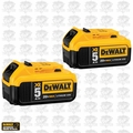 DeWalt DCB205-2 2pk 20V MAX* Premium XR 5.0 Ah Lithium Ion Battery
