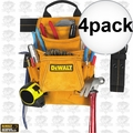 DeWalt DG5333 4pk 10-Pocket Carpenter's Suede Nail and Tool Bag