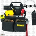 DeWalt DG5433 4pk 10-Pocket Carpenter's Nail and Tool Bag