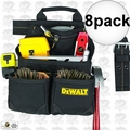 DeWalt DG5433 8pk 10-Pocket Carpenter's Nail and Tool Bag