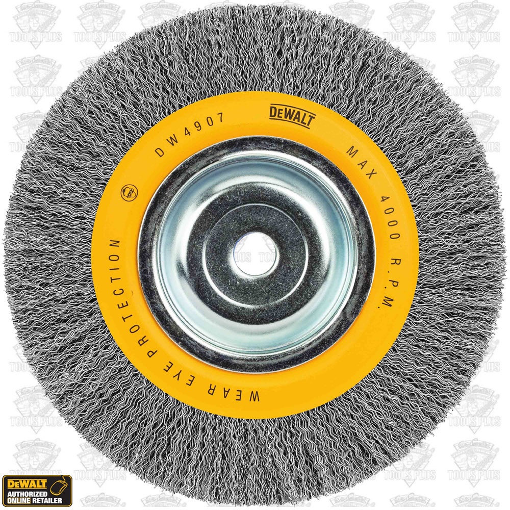 Dewalt Dw4907 8 Bench Grinder Wire Wheel