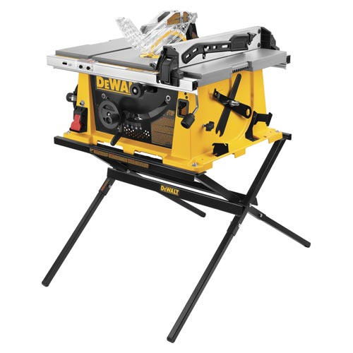 Dewalt Dw744x Heavy Duty 10 Job Site Portable Table Saw