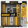 DeWalt DWA2T40IR 40pc Impact Ready Screwdriving Bit Set