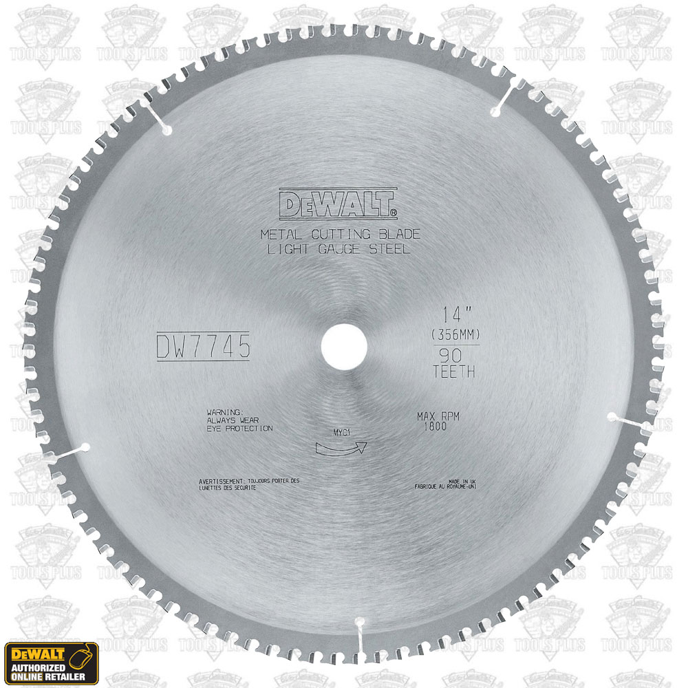 Dewalt dwa7745 14x 90 light gauge ferrous metal cutting blade keyboard keysfo Images