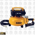 DeWalt DWC1KIT-B DeWalt 6 Gallon Compressor + Brad Nailer Combo Kit