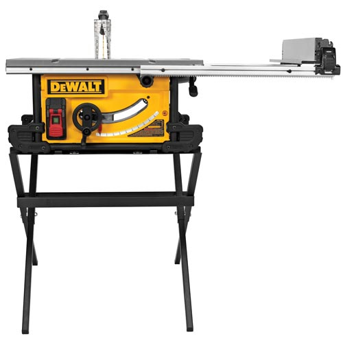 Dewalt Dwe7490x 10 39 39 Jobsite Table Saw With Compact Folding Stand