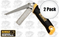 DeWalt DWHT20123 2pk Folding Rasp/Jab Saw cut drywall and plane edges