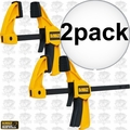 "DeWalt DWHT83148 2pk 4.5"" Small Trigger Clamps"