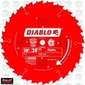 "Diablo D1024X 10"" x 24 Tooth Ripping / Framing Blade"