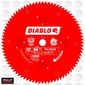 "Diablo D1280X 12"" x 80 Tooth Finish Blade"
