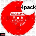 "Diablo D1484X 4pk 14"" x 84 Tooth ATB Miter Wood Saw Blade"
