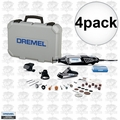 Dremel 4000-3-34 4pk High Performance Rotary Tool Kit with 34 Accessories