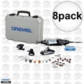 Dremel 4000-3-34 8pk High Performance Rotary Tool Kit with 34 Accessories