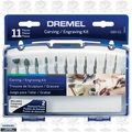 Dremel 689-01 11pc Carving/Engraving Mini Accessory Kit