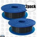 Dremel DF02-01 2pk Black 3D printer Filament 1.75mm