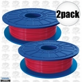 Dremel DF03-01 2pk Red 3D printer Filament 1.75mm