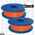 Dremel DF04-01 2pk Orange 3D printer Filament 1.75mm