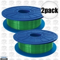 Dremel DF07-01 2pk Green 3D printer Filament 1.75mm