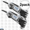 Dremel MM40-DR-RT 2pk Reconditioned Quick Lock Mulit Max 120v 2.5amp