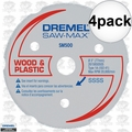 Dremel SM500 4pk Multipurpose Carbide Wheel