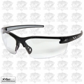Edge Eyewear DZ111-2.0-G2 Black Clear Lens Zorge Safety Glasses w/ 2x Mag