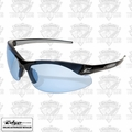 Edge Eyewear DZ113G2 Zorge Safety Glasses - Black with Light Blue Lens