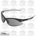 Edge Eyewear DZ116-2.0-G2 Zorge Safety Glasses - Black w/Smoke Lens - 2x Mag