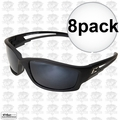 Edge Eyewear TSK21-G15-7 8pk Kazbek Polarized Safety Glasses