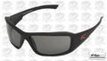 Edge Eyewear TXB236 Brazeau Safety Glasses Torque Series Black w/ Smoke Lens