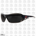 Edge Eyewear XB116-P1 Black / Smoke Lens Safety Glasses Brazeau Patriot 1