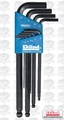 Eklind 13609 9 pc Ball End L-Hex Key Set