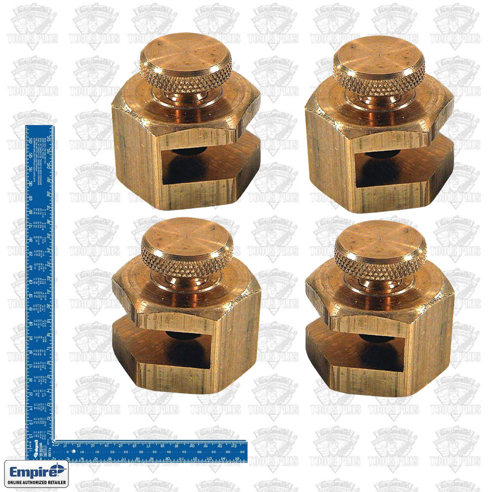 Empire 105 1190 Brass Stair Gauge & Anodized Framing Square Kit