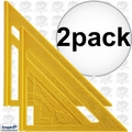 Empire 296 2pk 7'' Polycast Rafter Square