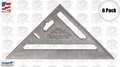 "Empire 2990 6pk 7"" Magnum Rafter Square"